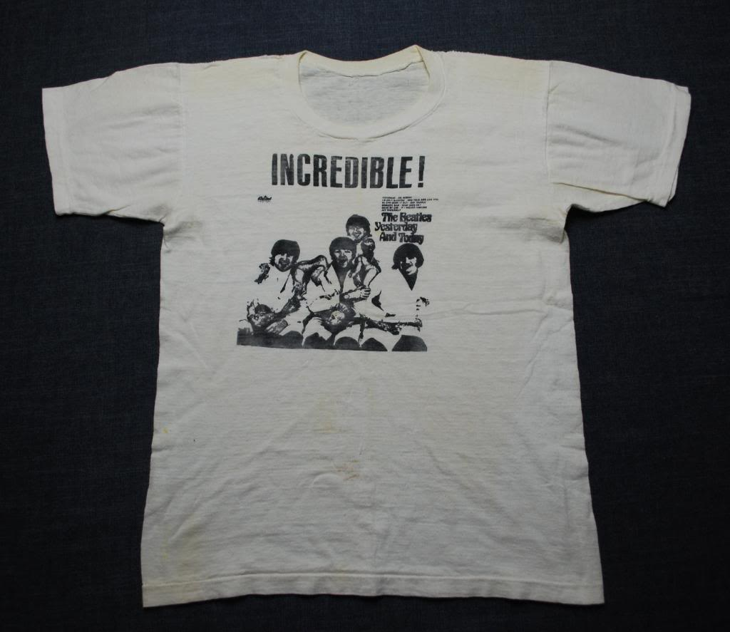 Beatles Incredible Concert Tee