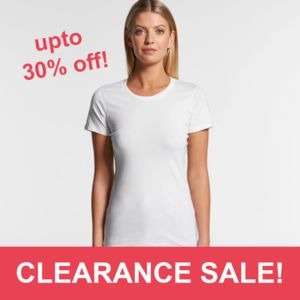 AS Colour - Women's Wafer Crew Tee (Slim Fit) Thumbnail